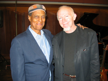 Bill and Leon Bibb at CBC